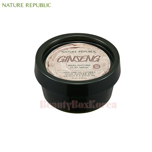 NATURE REPUBLIC Real Nature Clay Mask [Ginseng&Coconut] 70g